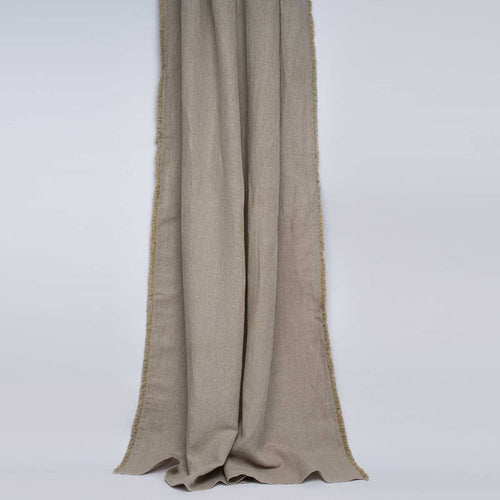 luca boho curtain pre made tie fringe european linen natural by eadie lifestyle