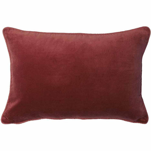lynette cushion cotton velvet linen piping finish plump feather insert rosetta by eadie lifestyle