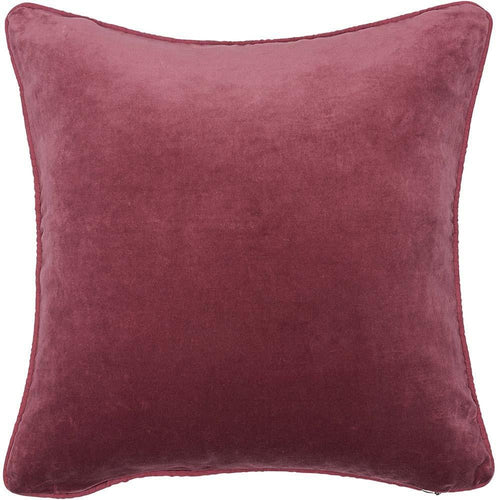 lynette cushion cotton velvet linen piping finish plump feather insert by eadie lifestyle