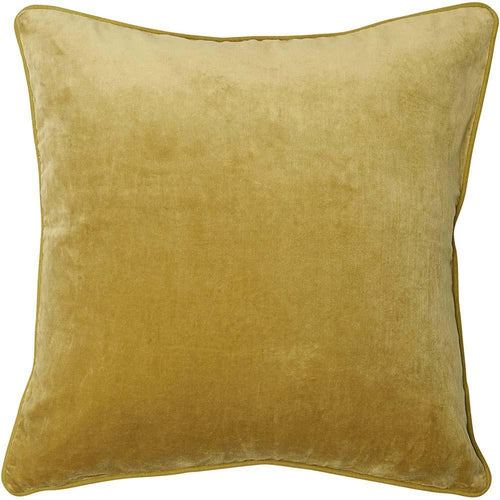 lynette cushion cotton velvet linen piping finish plump feather insert lime by eadie lifestyle