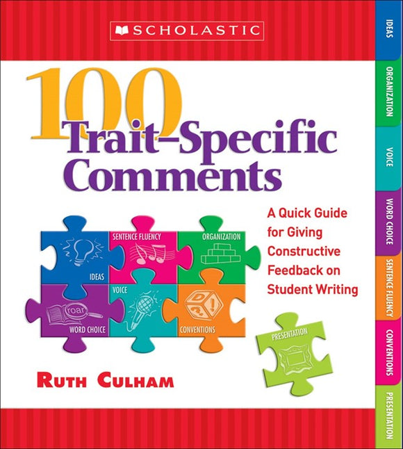 100 Trait Specific Comments: Grades 3-5 </br> Item: 796026