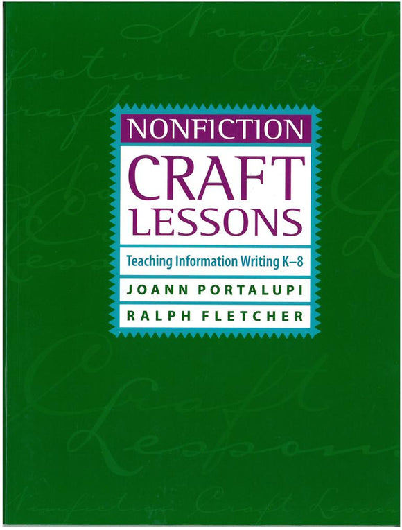 Nonfiction Craft Lessons </br> Item: 103291