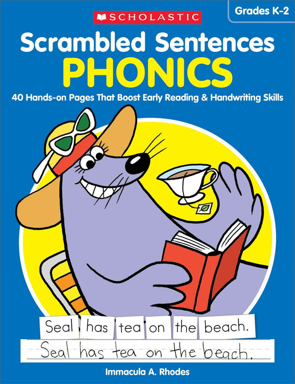 Scrambled Sentences: Phonics </br> Item: 112986