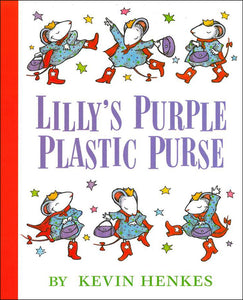 Lilly's Purple Plastic Purse </br> Item: 128975