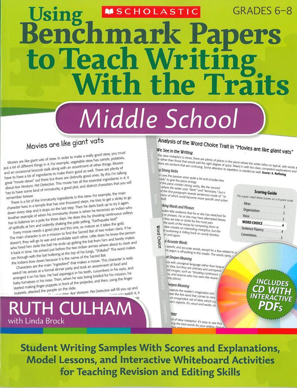 Using Benchmark Papers to Teach Writing with  the Traits: Middle School </br> Item: 138406