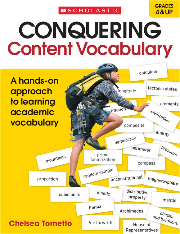 Conquering Content Vocabulary </br> Item: 174342