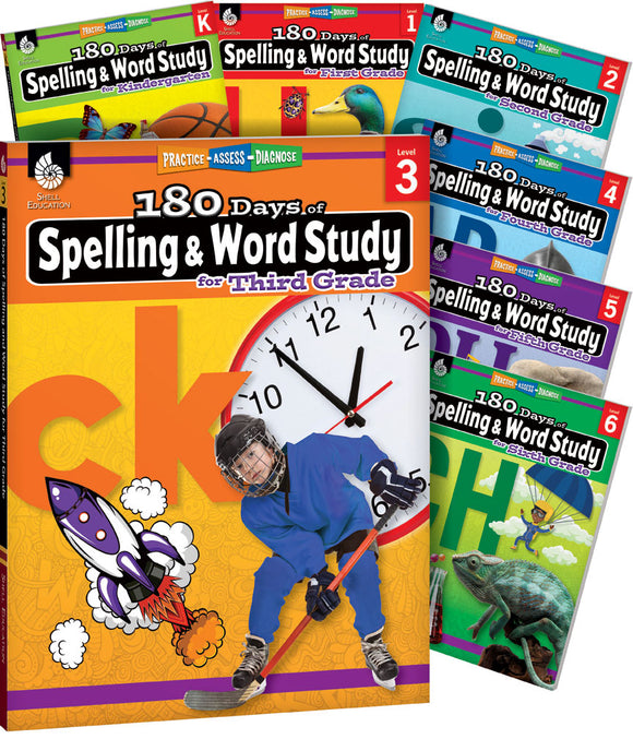 180 Days of Spelling and Word Study