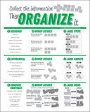 Organize It Table Tent </br> Item: 208
