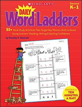 Daily Word Ladders: Grades K-1 </br> Item: 223799