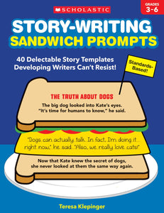 Story-Writing Sandwich Prompts </br> Item: 227154