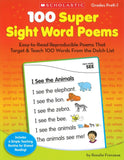100 Super Sight Word Poems </br> Item: 238304