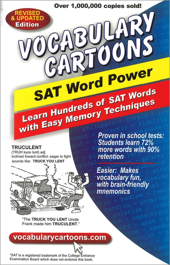 Vocabulary Cartoons, SAT Word Power </br> Item: 242233