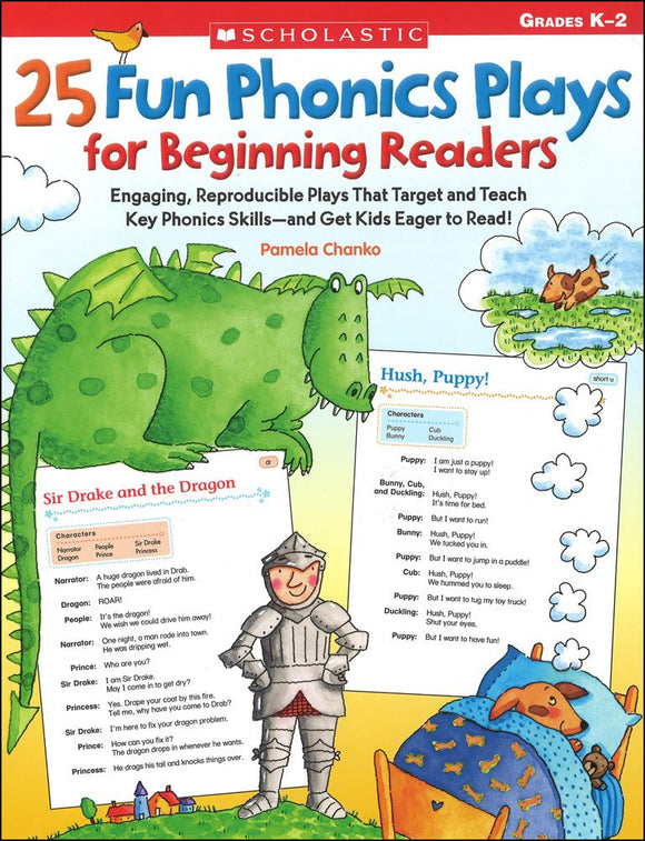 25 Fun Phonics Plays for Beginning Readers </br> Item: 103398