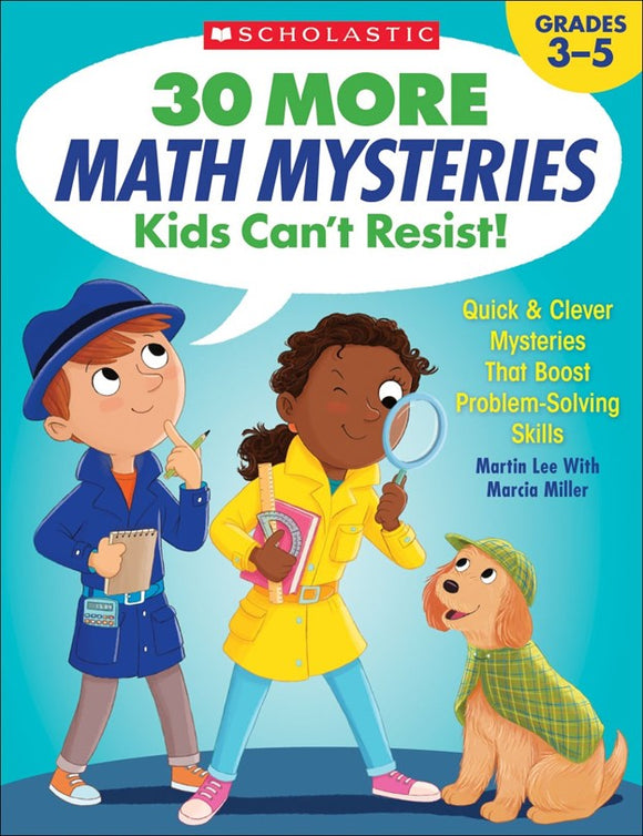 30 More Math Mysteries Kids Can't Resist! </br>Item: 257304