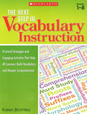 The Next Step in Vocabulary Instruction </br> Item: 321142