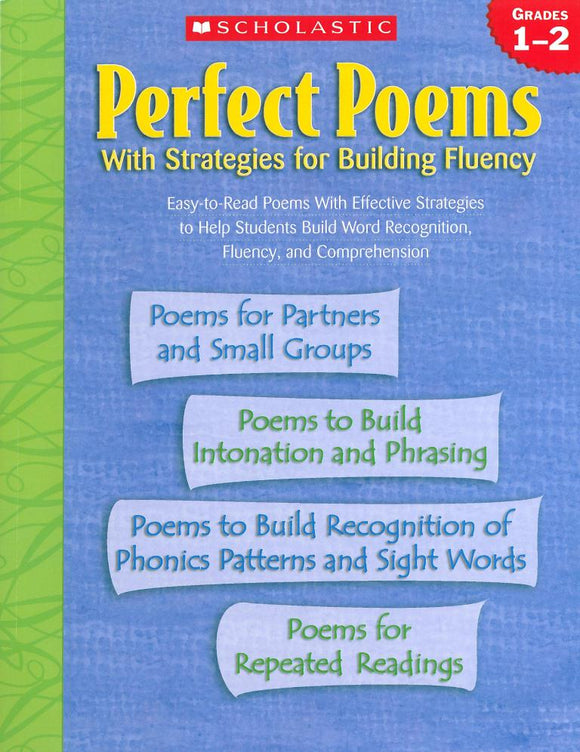 Perfect Poems with Strategies for Building Fluency: Grades 1-2 </br> Item: 438306