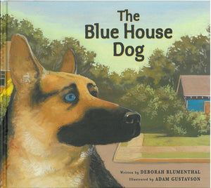 The Blue House Dog </br> Item: 455379