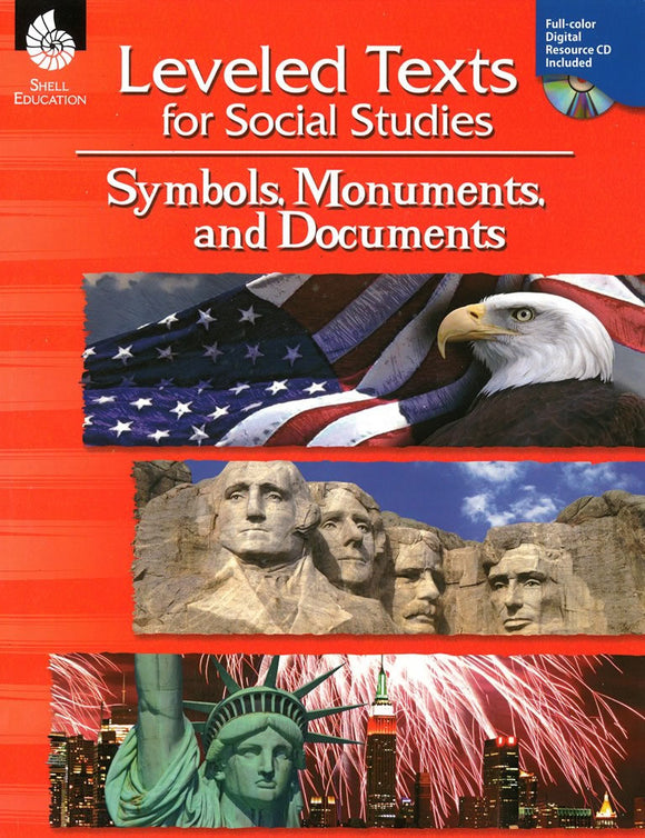 Leveled Texts for Social Studies: Symbols, Monuments, and Documents </br> Item: 50896
