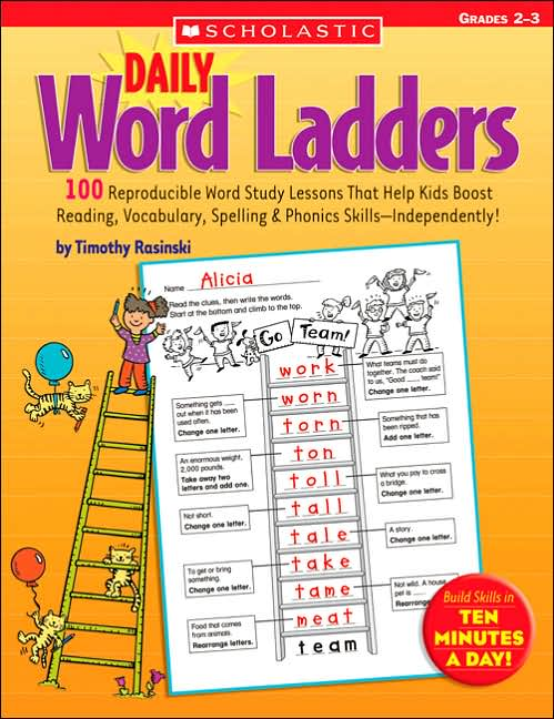 Daily Word Ladders: Grades 2-3 </br> Item: 513838