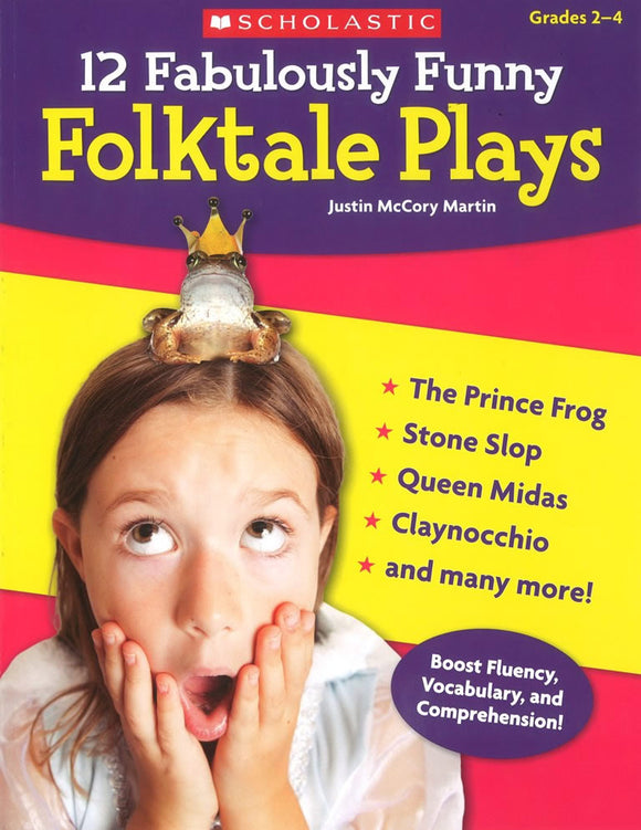 12 Fabulously Funny Folktale Plays </br> Item: 517621