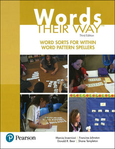Words Their Way Word Sorts for Within Word Pattern Spellers, 3rd Ed </br> Item: 575681