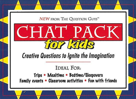 Chat Pack for Kids </br> Item: 580158