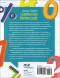Teaching Students to Communicate Mathematically </br> Item: 625575