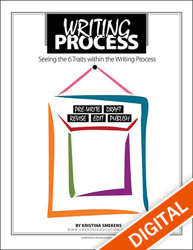 The 6 Traits in the Writing Process Poster Set, Item: 538