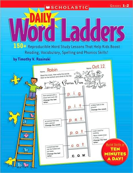 Daily Word Ladders: Grades 1-2 </br> Item: 74766