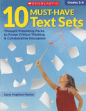 10 Must-Have Text Sets </br> Item: 751902