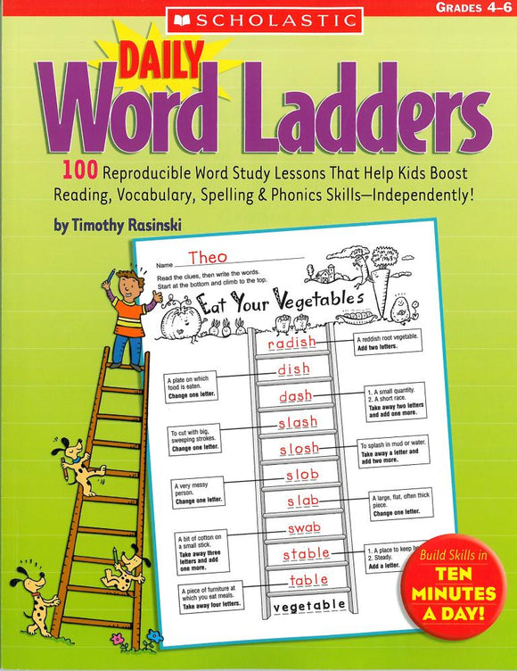 Daily Word Ladders: Grades 4-6 </br> Item: 773454