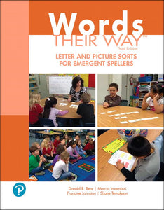 Words Their Way Letter and Picture Sorts for Emergent Spellers, 3rd Edition </br> Item: 773674