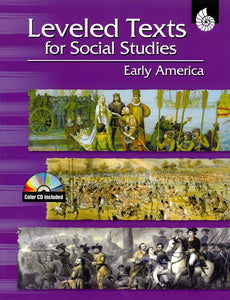 Leveled Texts for Social Studies: Early America </br> Item: 800819