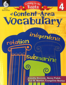 Getting to the Roots of Content-Area Vocabulary: Level 4 </br> Item: 808648