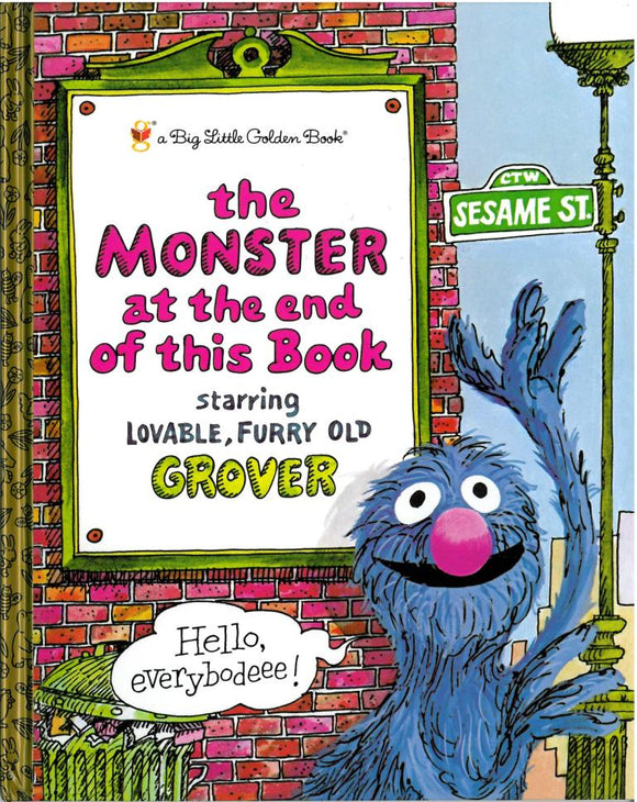 The Monster at the End of This Book </br> Item: 829130