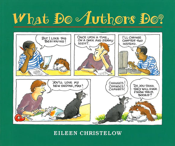 What Do Authors Do? </br> Item: 866214