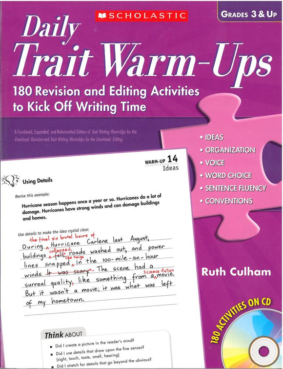 Daily Trait Warm-Ups </br> Item: 95990