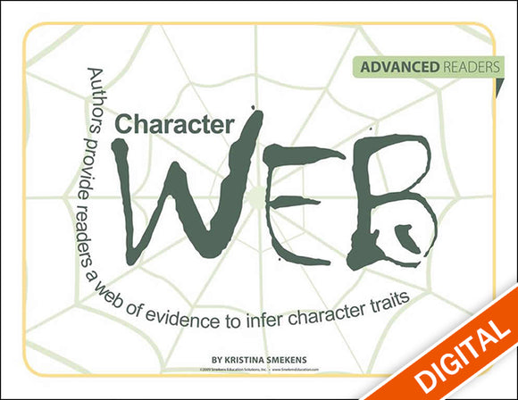 Character Web: Advanced Readers, Item: 526