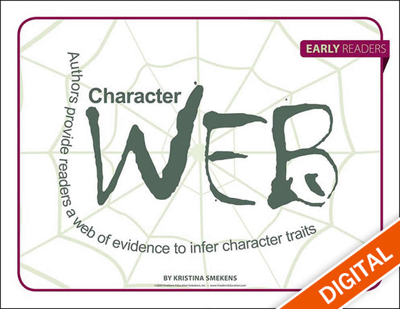 Character Web: Early Readers, Item: 527