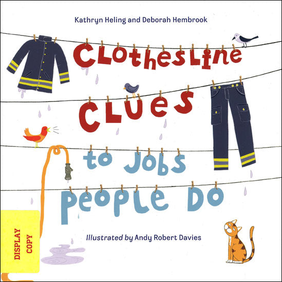 Clothesline Clues to Jobs People Do DISPLAY COPY