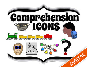 Comprehension Icons & Poster Set, Item: 529