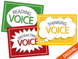 Comprehension Voice Signs