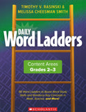 Daily Word Ladders: Content Areas, Grades 2-3 </br>Item: 627435