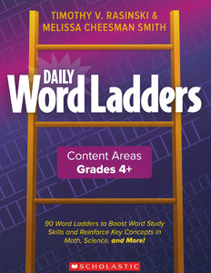 Daily Word Ladders: Content Areas, Grades 4-6 </br>Item: 627442