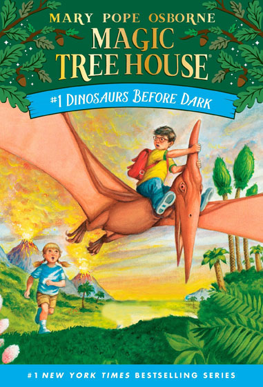 Dinosaurs Before Dark (Magic Tree House #1) </br> Item: 824114
