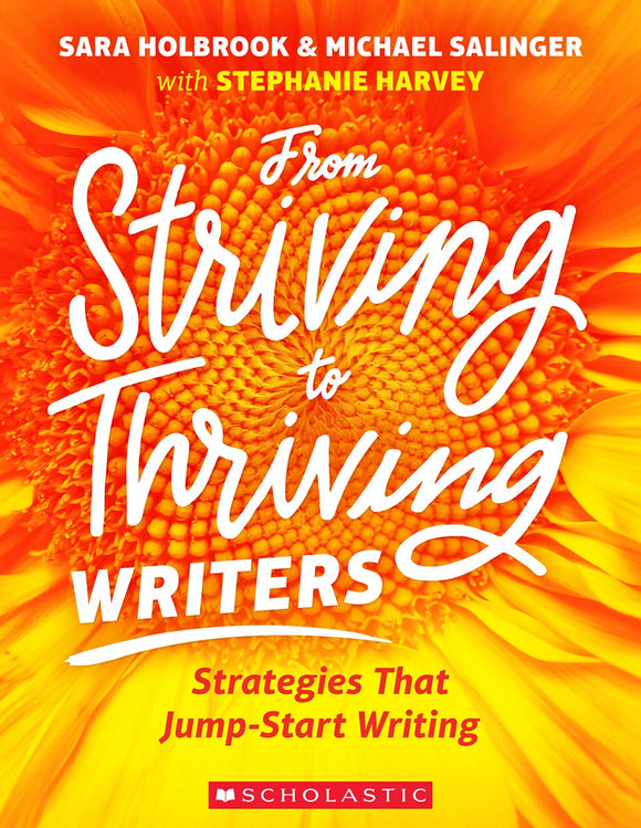 From Striving to Thriving Writers </br>Item: 321685
