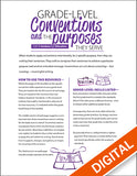 K-12 Conventions Booklet