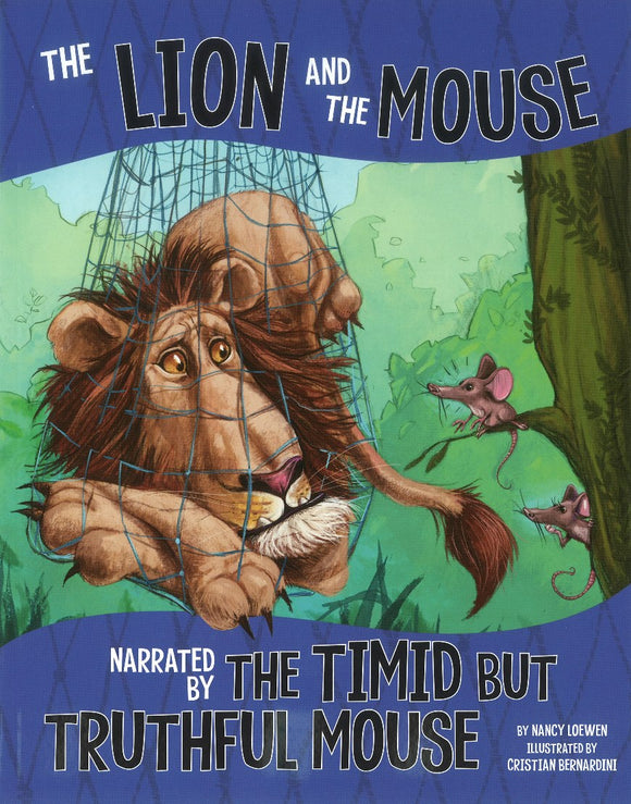 The Lion and the Mouse, Narrated by the Timid But Truthful Mouse </br>Item: 828709