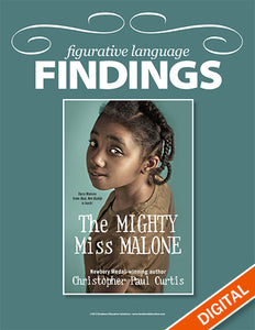 Figurative Language Findings: The Mighty Miss Malone, Item: 551