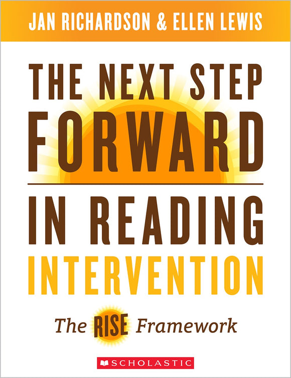 The Next Step Forward in Reading Intervention </br>Item: 298260